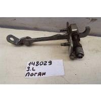 Ограничитель двери задней левой renault Logan 2005-2014 6001546886