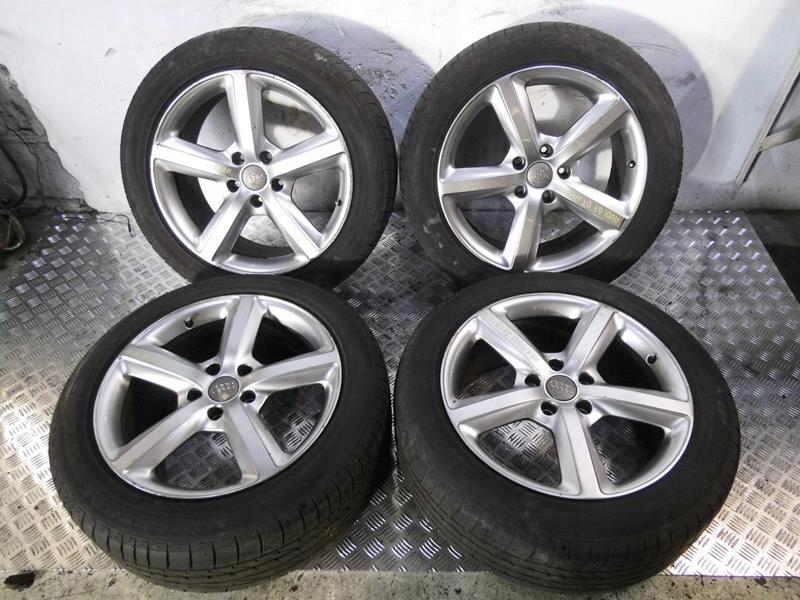 колёса колёсные диски шины 275 / 45 / r20 audi q7 4l